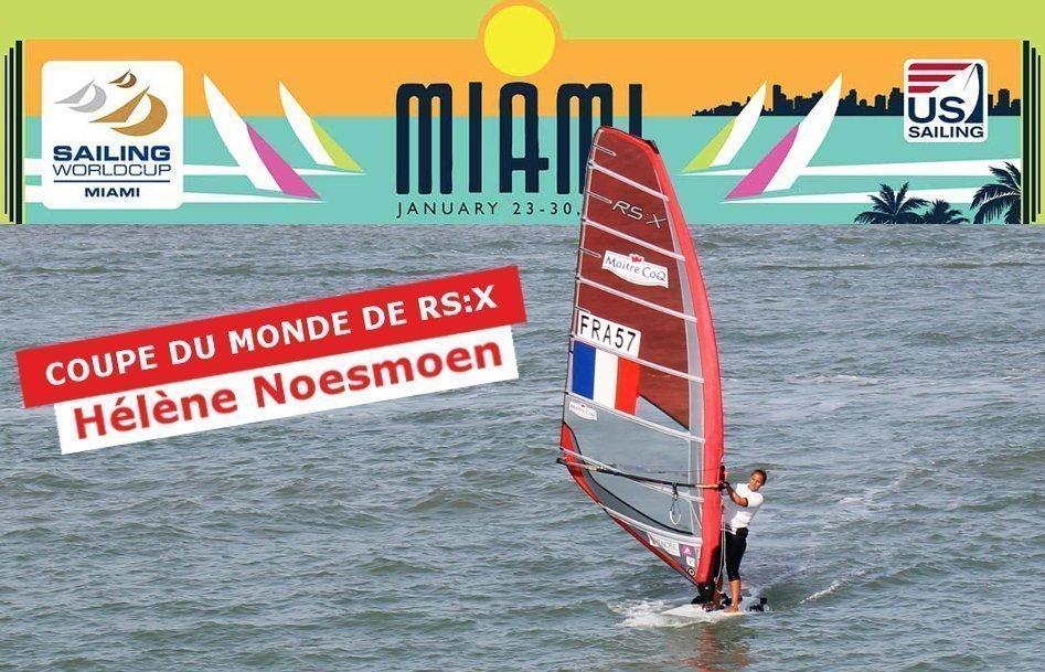 2015-01-15 helene-noesmoen-RSX-windsurf-isaf sailing world cup Miami