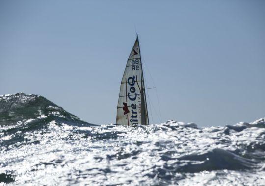 Solitaire du Figaro 2014 - Maître CoQ - Jérémie Beyou : Jérémie gagne le prologue de la Solitaire du Figaro 2014