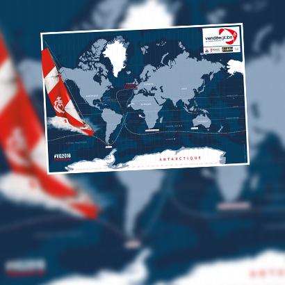 cartographie / suivi / position / Vendée Globe