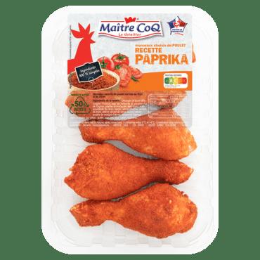 Pilons de poulet au Paprika