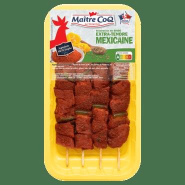 Brochettes de dinde Extra-tendre à la Mexicaine