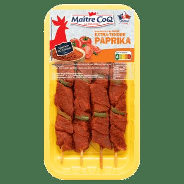 Brochettes de dinde Extra-tendre au Paprika