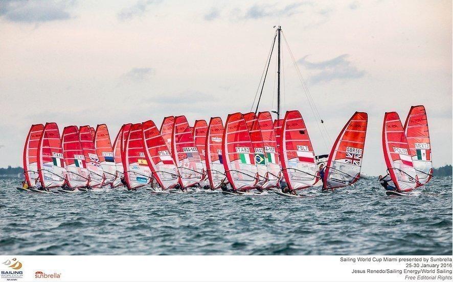 RSX - Helene Noesmoen - SWC Miami - Jesus Renedo- Sailing Energy - Word Sailing