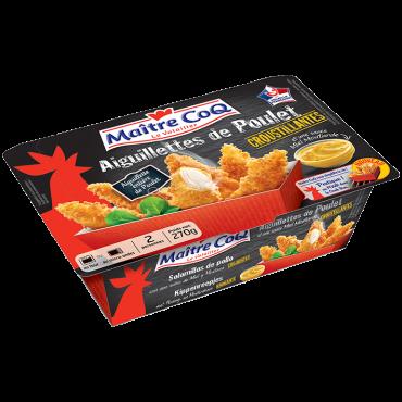 Aiguillettes de Poulet croustillantes en barquette cookbox surgelé