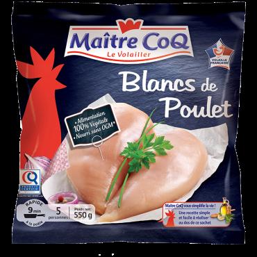 Blanc de poulet certifié SURGELES