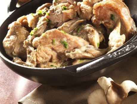 Blanquette de dinde aux champignons, recette du quotidien Maître CoQ.