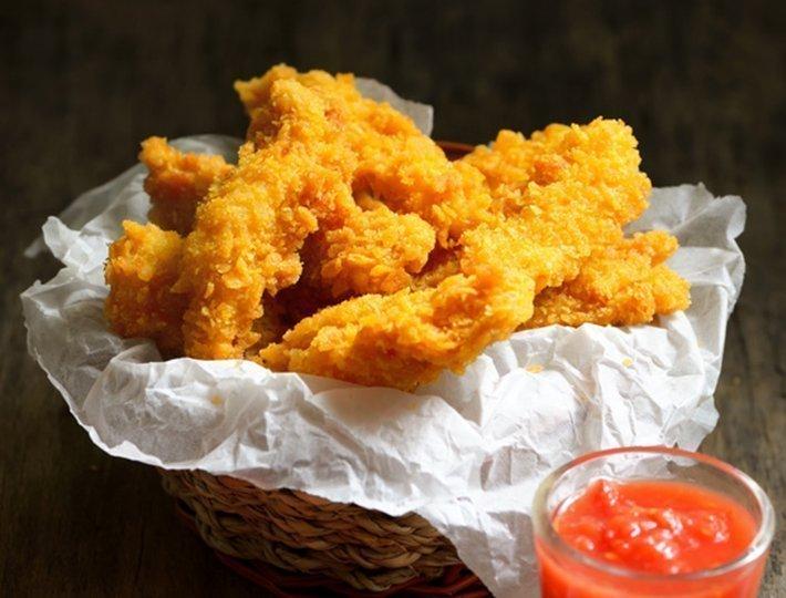 Bouch es de poulet la lousiane recette du quotidien - Cuisson oeuf a la coq ...