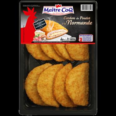 Cordon de poulet à la normande Format Familial