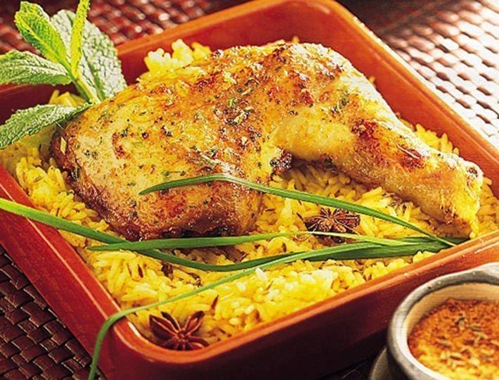 Recette du quotidien Maître CoQ, recette de poulet à l'indienne.