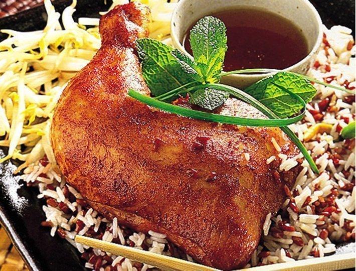 Cuisse de poulet à la chinoise