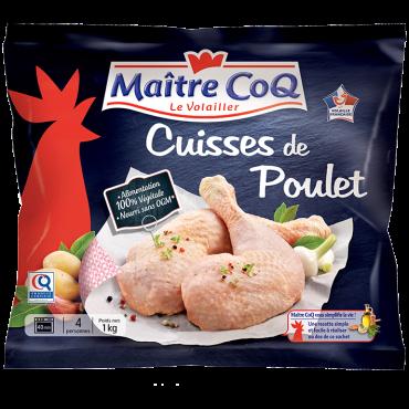 Cuisse de poulet certifié SURGELEE