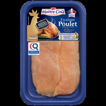 Escalope extrafine de poulet certifié Pleine Saveur