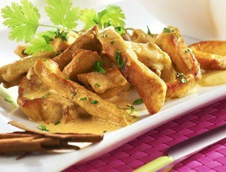 Recette du quotidien Maître CoQ -Escalopes de poulet au curry
