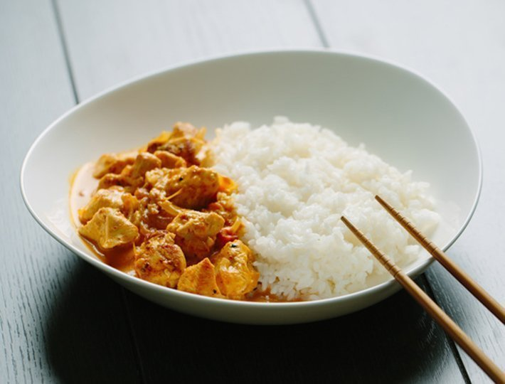 Recette internaute de filet de poulet au curry, Maître CoQ