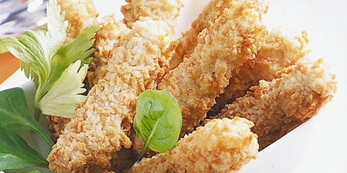 frites-de-poulet-et-puree-aux-trois-legumes