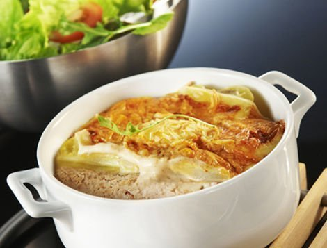 Recette de Haché de poulet rôti en raclette, Maître CoQ.