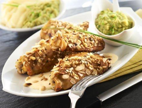 Recette du quotidien Hauts de cuisse de poulet aux amandes et pignons de pin, Maître CoQ