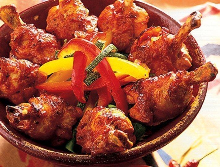 Manchons de poulet mexicain sauce salsa recette ma tre coq - Cuisiner des cuisses de poulet ...