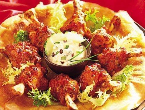 Manchons de poulet sauce Indienne, recette du quotidien Maître CoQ.