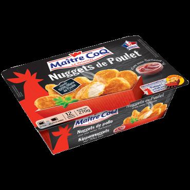 Nuggets de Poulet en barquette cookbox surgelé