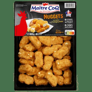 Nuggets aux pépites de fromage fondu