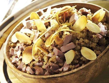 Recette Maître CoQ Quinoa aux gésiers de poulet.