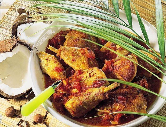 Recette pour épater de poulet au coco Maître CoQ.