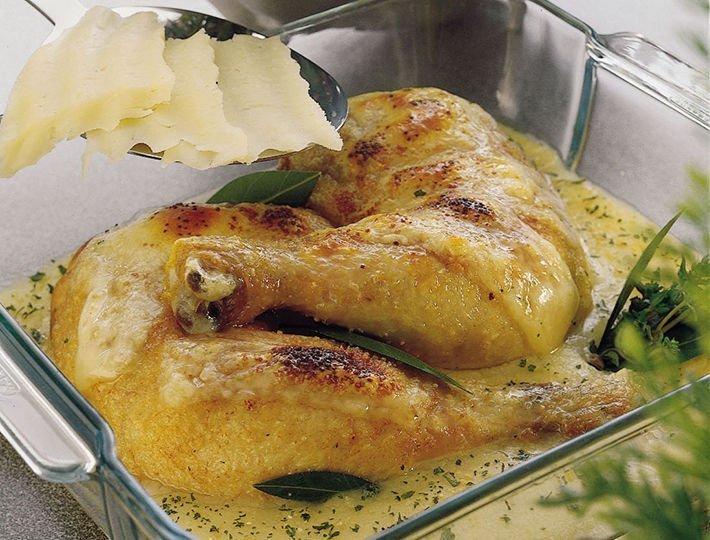 Recette du quotidien Maître CoQ, recette de Poulet gratiné au catal