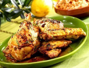 Poulet mariné à la méditerranéenne, recette pour le barbecue Maître CoQ.