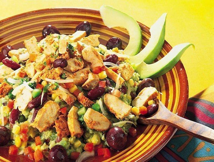 Recette pour le barbecue, Salade mexicaine.