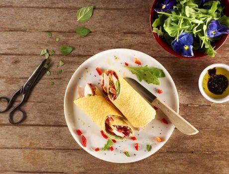 Essayez notre recette Espagnole de Tortilla d'épinards au poulet fumé, cette omelette Espagnole