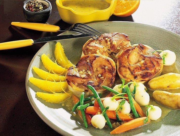 Recette de tournedos de dinde aux agrumes, recette du quotidien Maître CoQ.
