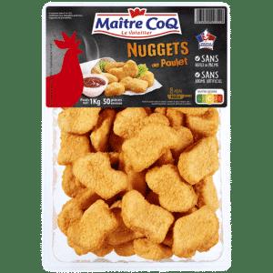 Nuggets de poulet format familial
