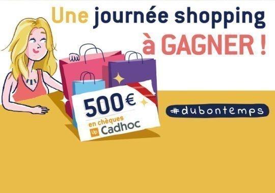 1602 Bandeau journée shopping