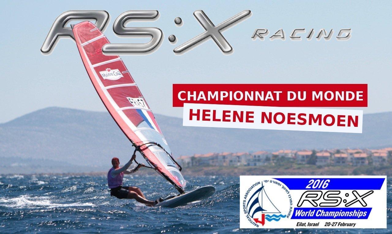 Championnat du Monde de RS:X 2016 - Eilat (Israël)