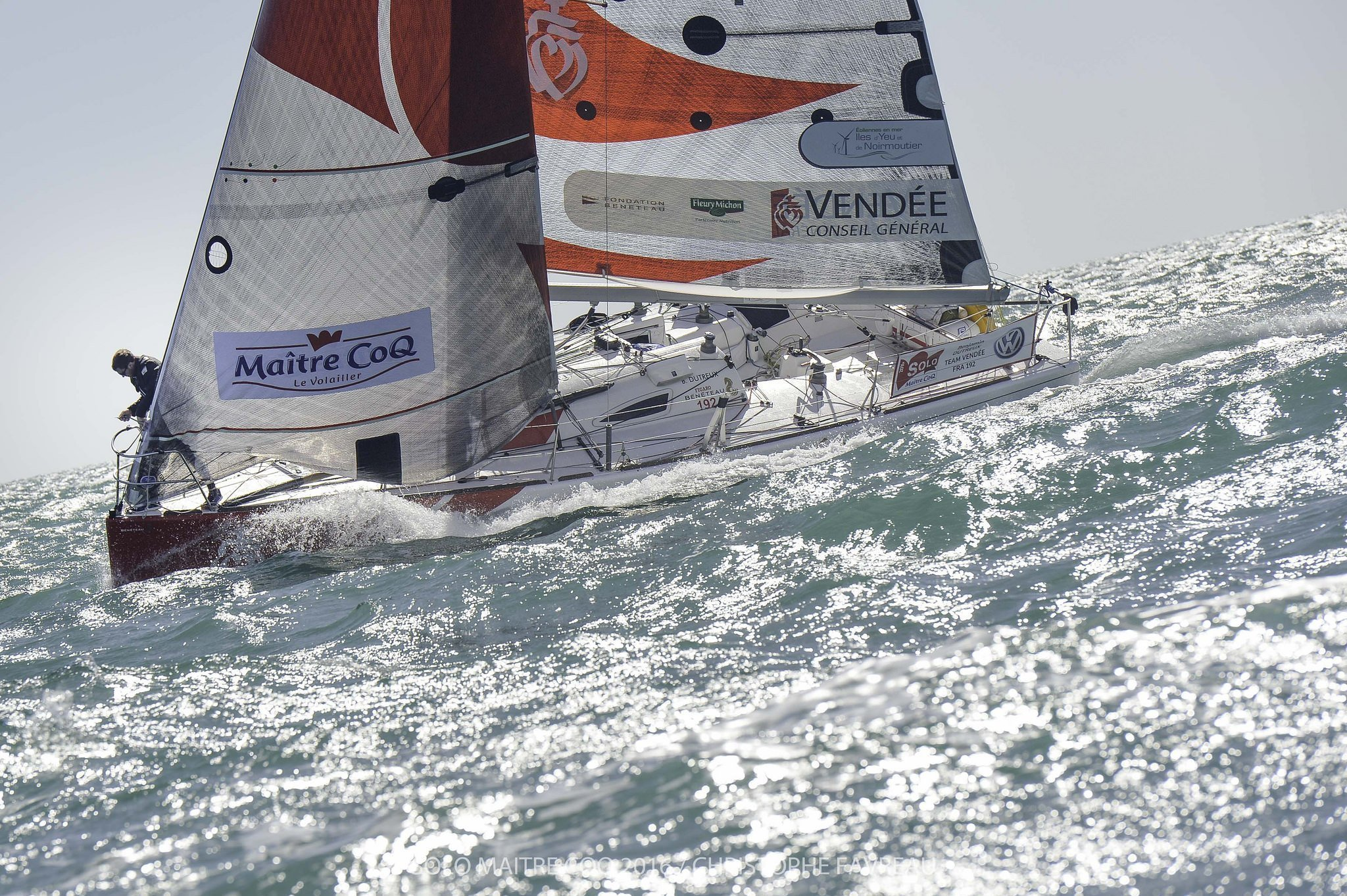 Benjamin Dutreux - Team Vendée - Solo Maitre CoQ