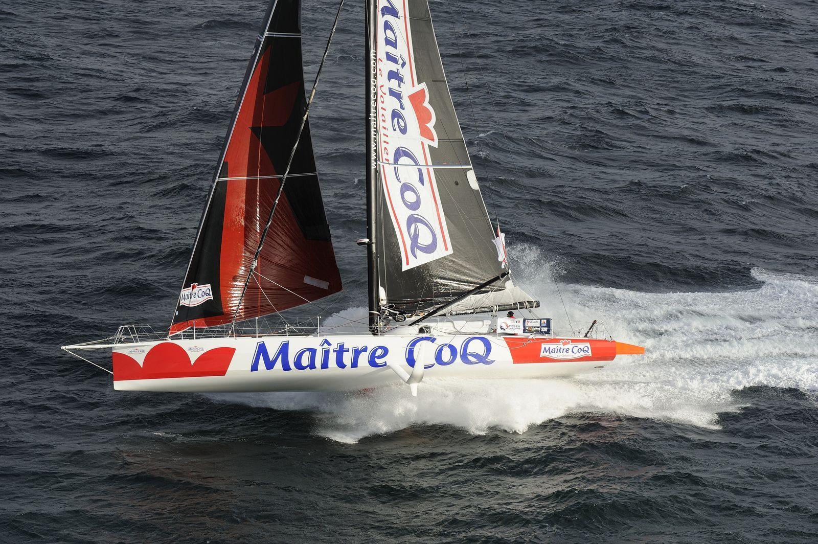 """Transat New-York Vendée 2016 - Maître CoQ - Jérémie Beyou : Message du bord : """"On prend la mesure de la taille de l'océan"""""""