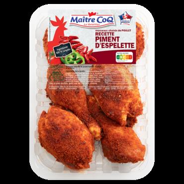 Cuisses de poulet Piment d'Espelette
