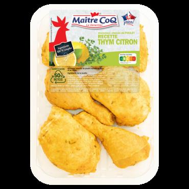 Découpes de poulet Thym Citron