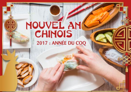 Recettes du Nouvel an chinois Maître CoQ.