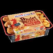 La première solution repas au rayon volailles OU un bon poulet patates prêt-à-emporter !