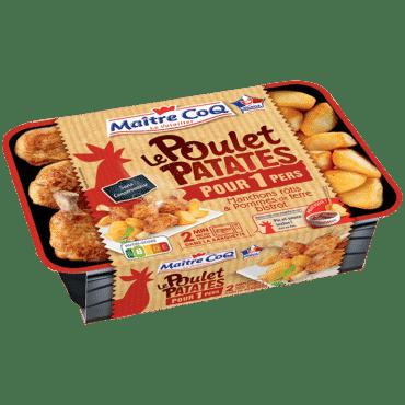 Poulet Patates pour 1