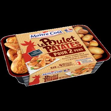 Poulet Patates pour 2