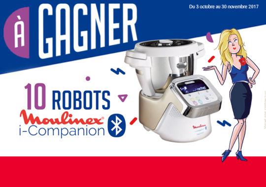 Tentez de gagner un robot Moulinex i-Companion