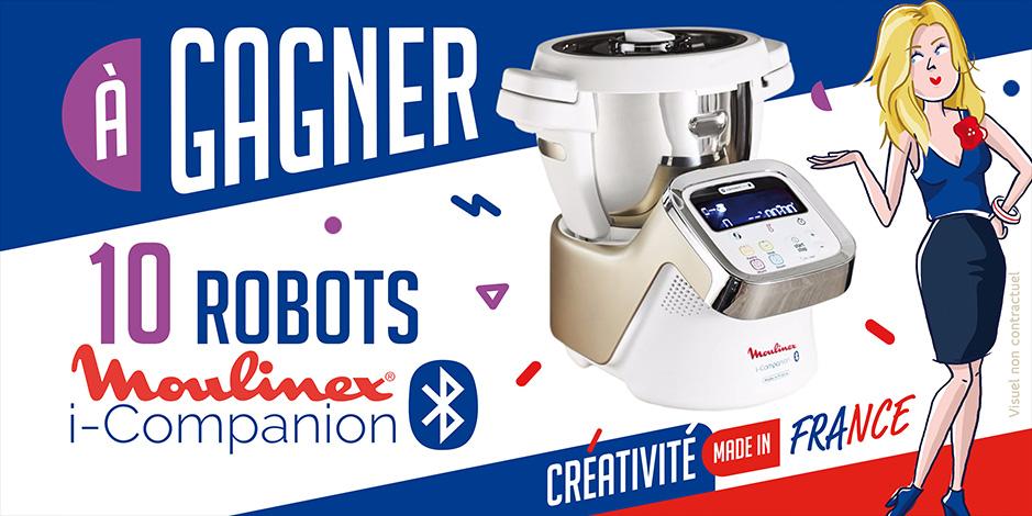 10 robots Moulinex i-Companion à gagner !
