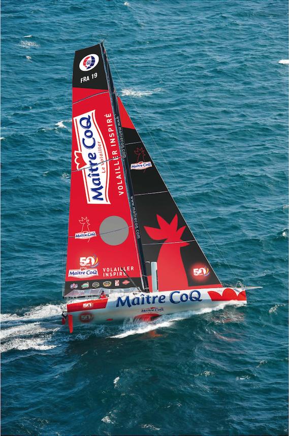 bateaux Maître CoQ - Imoca 2018 - Yannick Bestaven