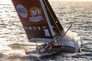 Transat Jacques Vabre 2019 - au large du Golfe de Gascogne