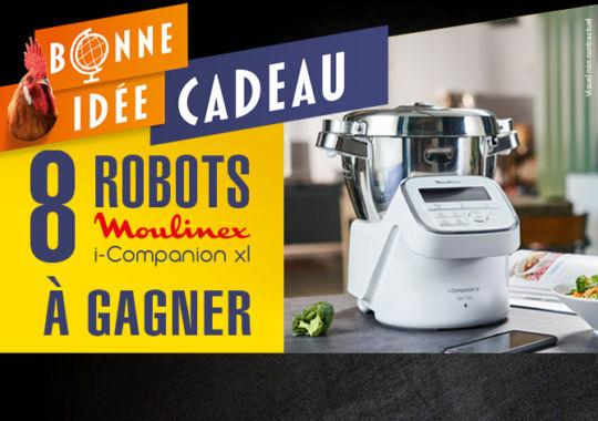 Tentez de gagner un robot Moulinex i-Companion xl