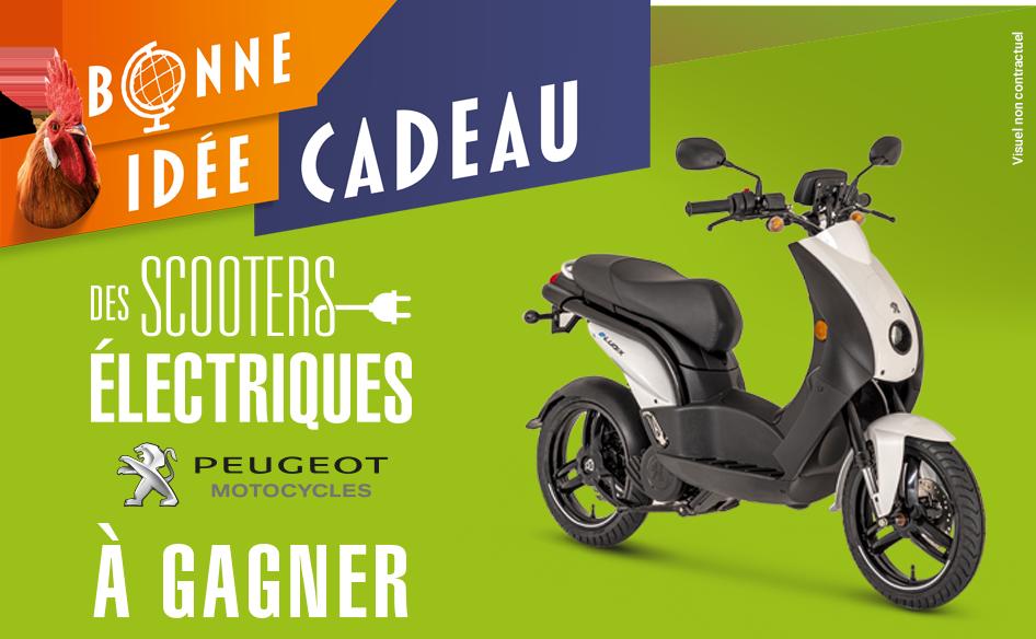 Tentez de gagner <strong>le scooter électrique Peugeot e-Ludix</strong>