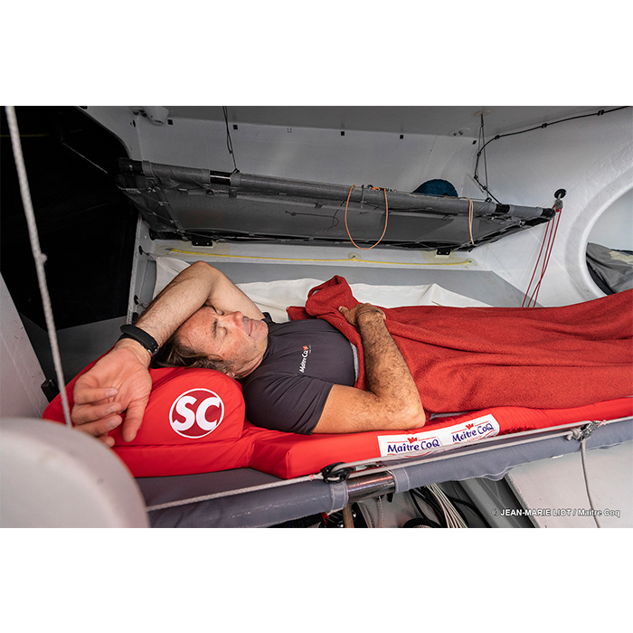 l'hygiène de vie et le sommeil à bord de Maître CoQ IV